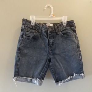 Levi Strauss Signature Low Rise cutoff shorts